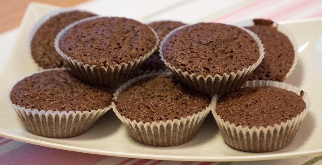 recept på chokladmuffins